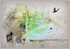 Elobibilafée: Art journaling «Positiv>>-+> Journal»