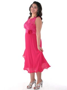Sleeveless Floral Cocktail Dress. Style #: MB6105. Get yours today at www.SungBoutiqueLA.com