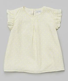 Look what I found on White Angel-Sleeve Top - Toddler & Girls by French Connection Girly Outfits, Kids Outfits, Little Girl Dresses, Girls Dresses, Pretty Kids, Frock Design, Angel Sleeve, White Angel, Kid Styles