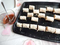 Štafetky - famózne roládky z bielkov (fotorecept) - obrázok 6 Rum, Waffles, Dairy, Cheese, Breakfast, Food, Basket, Morning Coffee, Essen
