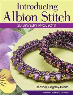 Albion Stitch - new stitch technique described in an advertised book