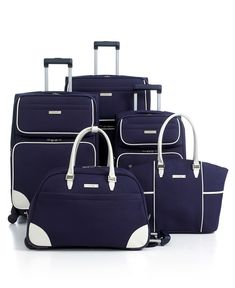 Nine West Rendezvous Luggage - Sale & Closeout - luggage - Macy's