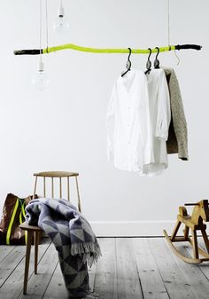 LITTLE CREATIVE PROJECT | WOODEN CLOTHES RAIL