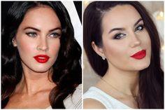 Megan Fox Inspired Old Hollywood Makeup Tutorial ♡ MakeupByGio