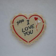 Valentine   Sugar Cookie   Lightly Decorated   J. Tamara