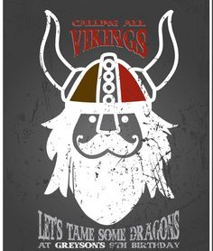 Viking and How To Train Your Dragon Party Part 1