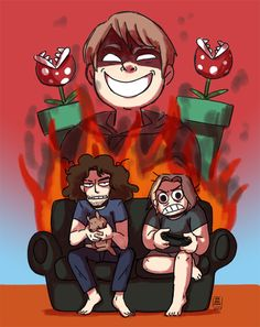Danny and Arin vs. Ross' Mario Maker levels