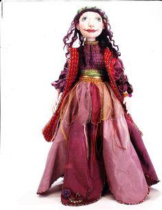 Цыганка. Выкройка куклы с одеждой.. Обсуждение на LiveInternet - Российский Сервис Онлайн-Дневников