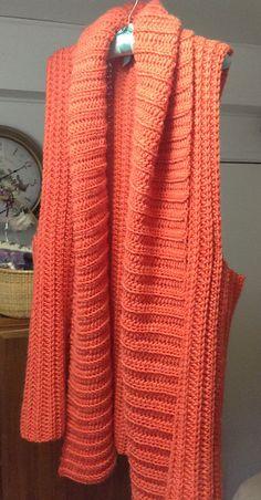 Ravelry: Belinda Vest pattern by Sara Kay Hartmann Vest Pattern, All The Way Down, Shrug Sweater, Crochet Clothes, Handmade Bracelets, Ravelry, Shawl, Knit Crochet, One Piece