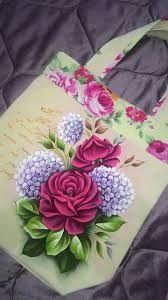 º de no leídos) - - Yahoo Mail Fabric Painting On Clothes, Painted Clothes, Painted Bags, Hand Painted Canvas, Tole Painting, Diy Painting, Fabric Paint Designs, Hand Art, Flower Art