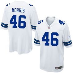 Cowboys Mens Alfred Morris Nike Game Jersey – White Football Jerseys e683829d9