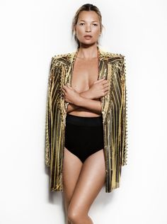 #KateMoss by #MarioTestino for #VogueUK May 2013