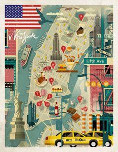 presentation boad NY community illust - Google 検索