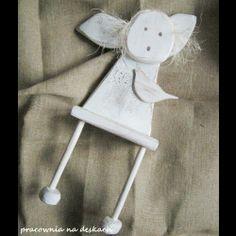 anioł - pracownia na deskach