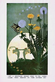 """""""Butterfly's Nightmare"""" by Dugald Stewart Walker. Dreamboats & Other Stories (1920)."""