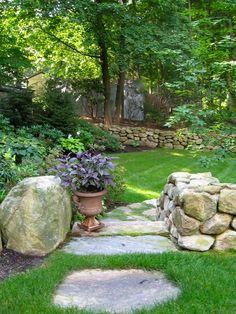 Garden Landscape Boston, MA | Irrigation System & Home Garden