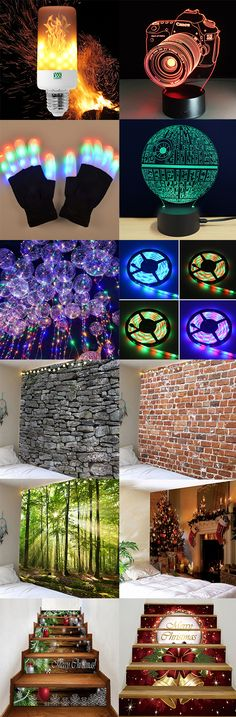 How to decorate your Living Room?50% OFF Wall Tapestries,Led Night Lights and Stair Stickers.Free Shipping Worldwide.