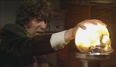 So impatient, Tom! Let it cool first! #doctorWho (from the episode Image of the Fendahl)