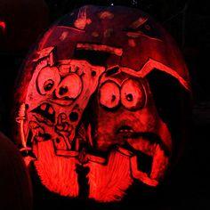 Hobbit Pumpkin Carving Ideas | Geeky Pumpkin Carvings Venom Carving Girl Gone Geek Blog