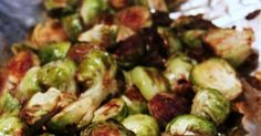 Ok, so I have never been a fan of Brussels sprouts before.. so don't knock them until you try them!  These are by far the best ever Brussels...