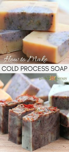 How to Make Cold Process Soap at Home