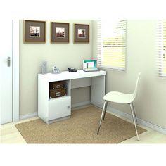 Mesa para Computador ou Escritório Politorno Mendonça com 1 Porta e 1 Nicho - Escrivaninhas no Extra.com.br