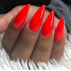 Spot light le chat Nail Shop, Stiletto Nails, Nail Inspo, Nail Care, Gel Polish, You Nailed It, Nail Colors, Hair Beauty, Manicures