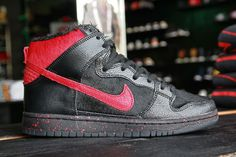 "Sean Cliver x Nike SB Dunk High – ""Krampus"" Pack"