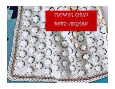 Digital Download 50's Crochet Baby Afghan by harmonycollectibles, $3.00
