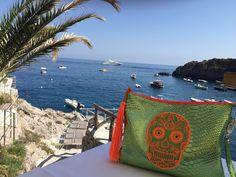 Beautiful view!! Positano on the Amalfi coast! #skull #clutch