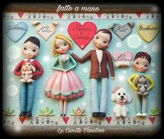 Family polymer clay fimo