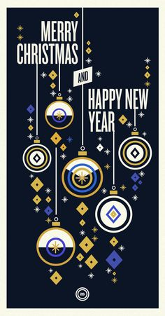 Christmas / Holidays 2012 by Sebastián Andaur, via Behance