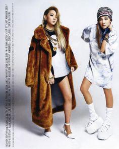 CL & Dara for Nylon