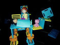 Hope (age designed a house on stilts. House On Stilts, Age, Make It Yourself, Toys, Happy, How To Make, Design, Activity Toys, Design Comics