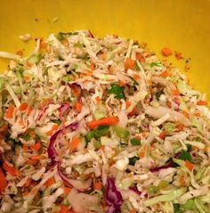 Cole Slaw This is a keeper, it's different because it's vinegar and sugar based, but has no oil. If you use Splenda instead of sugar, you don't lose any of the taste, but it makes it really healthy. It keeps…