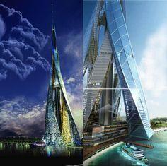 Resultado de imagen para futuristic architecture