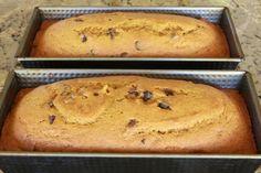 Pumpkin Chocolate Chip Bread, adjust to bake in bread maker. via Make It Do