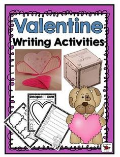 This is a lovely writing activity for Valentine's Day or any time in the year! Featuring an original poem, students write and draw what is hidden in their hearts behind the heart with poem and lock.