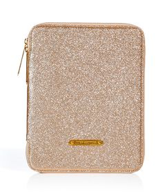 Juicy Couture Gold Glitter iPad Case