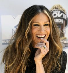 sarah jessica parker hair highlights
