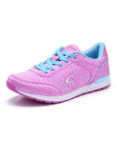 Another great find on #zulily! Pink & Blue Sneaker #zulilyfinds