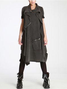 Cotton Knit Vest by LURDES BERGADA