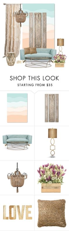 """""""Untitled #2"""" by lenadecor ❤ liked on Polyvore featuring interior, interiors, interior design, home, home decor, interior decorating, Nimbus, Uttermost, PBteen and Bernhardt"""