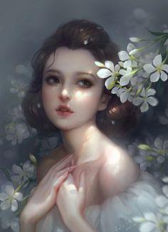 43 New Ideas for digital art girl chinese Anime Art, Character Art, Fantasy Art, Female Art, Art Girl, Illustration Art, Art, Digital Painting, Digital Art Girl