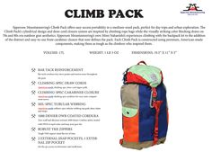Product- Climb Pack | Epperson Mountaineering