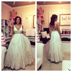Nicole Miller trunk show gown