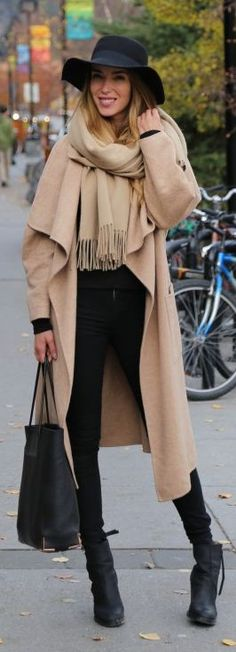 Camel Retro Inspired Coat