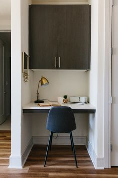 tiny desk nook