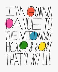 i'm gonna DANCE!