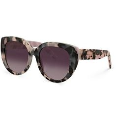 Ayumi Colour Tort Cat Eye Sunglasses